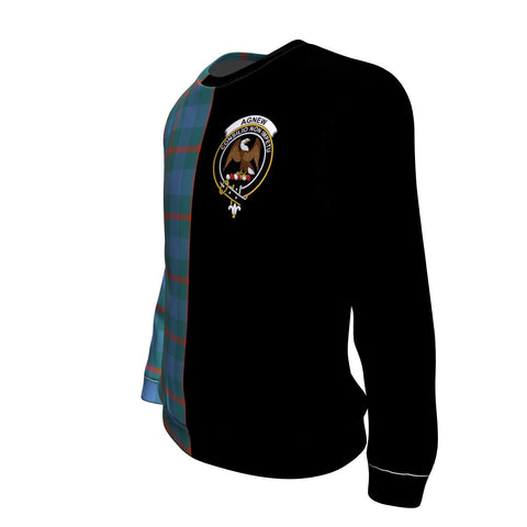 Agnew Ancient Tartan Sweatshirt - Half Style TH8