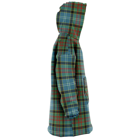 Paisley District Snug Hoodie - Unisex Tartan Plaid Right