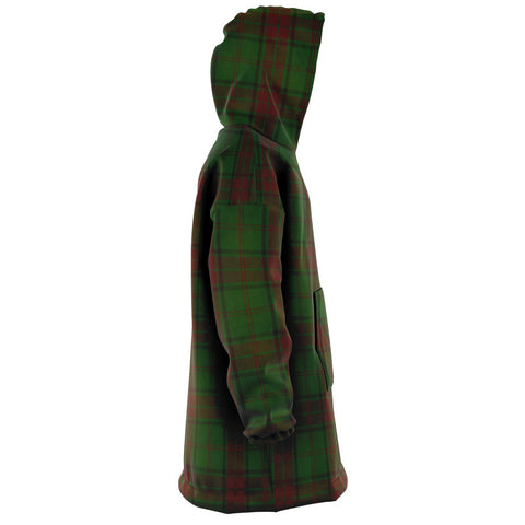Maxwell Hunting Snug Hoodie - Unisex Tartan Plaid Right