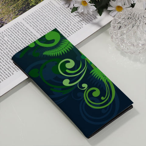 Special Edition of New Zealand Fern - Fern PU Long Wallet