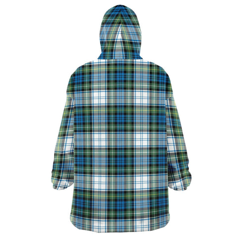 Campbell Dress Ancient Snug Hoodie - Unisex Tartan Plaid Back