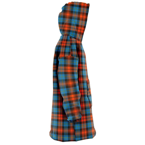 Image of MacLachlan Ancient Snug Hoodie - Unisex Tartan Plaid Right