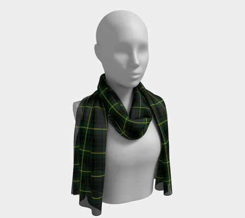 Tartan Long Scarf - Macarthur Modern - Bn04 |Women's Clothing| 1sttheworld