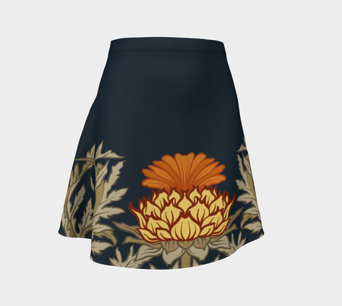 Thistle Pattern 11 Flare Skirt A1