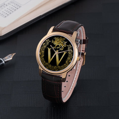 Golden Welsh Dragon™ 30 Meters Waterproof Quartz Fashion Watch TH7
