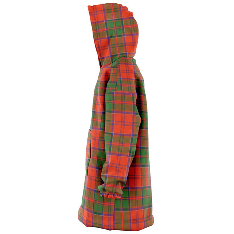 Grant Ancient Snug Hoodie - Unisex Tartan Plaid Left