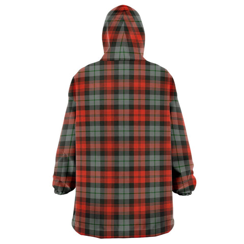 MacLachlan Weathered Snug Hoodie - Unisex Tartan Plaid Back