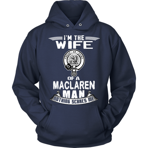 WIFE OF A MACLAREN T-SHIRT C12