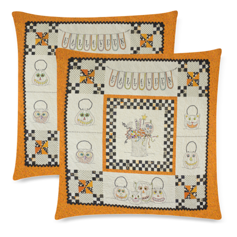 Image of Halloween Pillow Covers K5