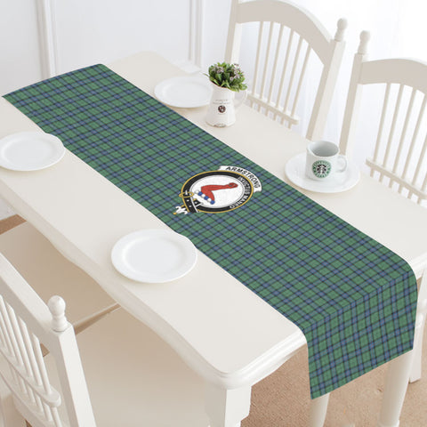 Image of Armstrong Ancient Tartan Table Runner - Bn04 | 1sttheworld.com