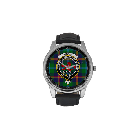 Young Modern Clan Badge Tartan Watch Nn5