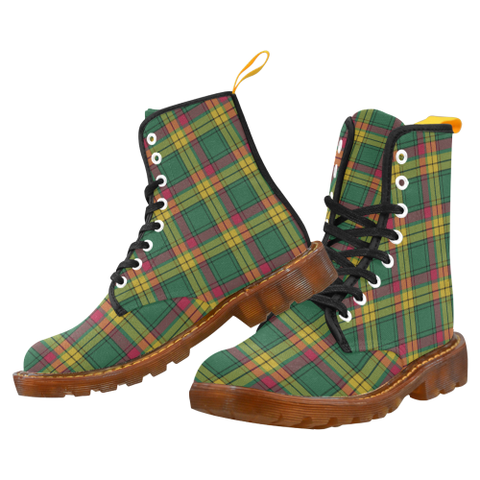 MacMillan Old Ancient Tartan Martin boots | Scotland Boots | Over 500 Tartans