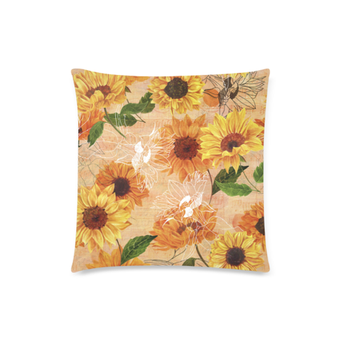 Image of Sunflower Pillow Covers