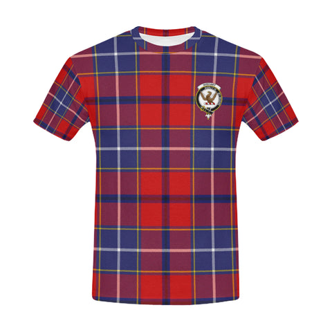 Tartan T-shirt - Wishart Clan| Tartan Clothing | Over 500 Tartans and 300 Clans