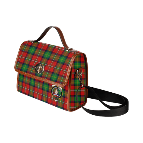 Image of Tartan Canvas Bag - Boyd Clan | Waterproof Bag | Scottish Bag