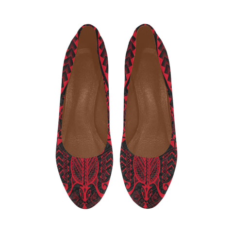 Image of Polynesian 1st Heels (Red) A6 |Footwear| 1sttheworld