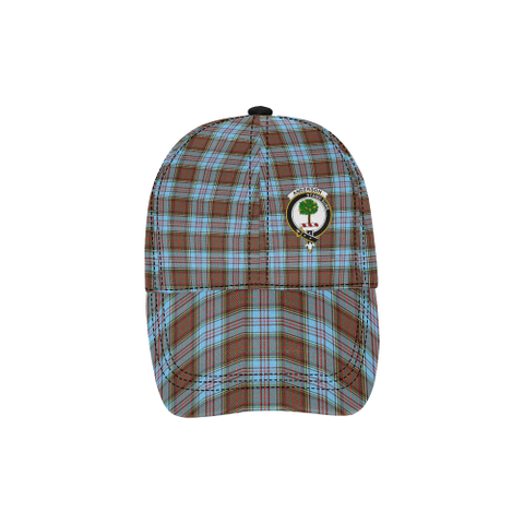 Anderson Ancient Clan Badge Tartan Dad Cap - BN03