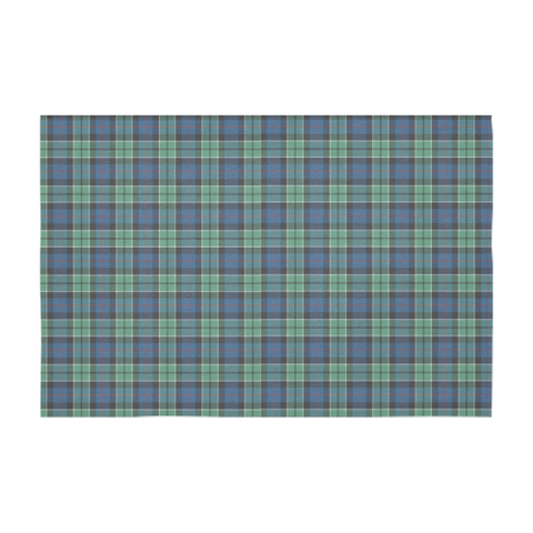 Image of Leslie Hunting Ancient Tartan Tablecloth |Home Decor