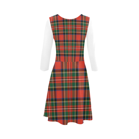 Tartan Sundress - Stewart Royal Modern | Women Clothing | Love The World