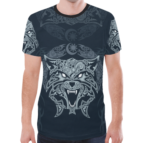 Wolf Celtic T-Shirt H4