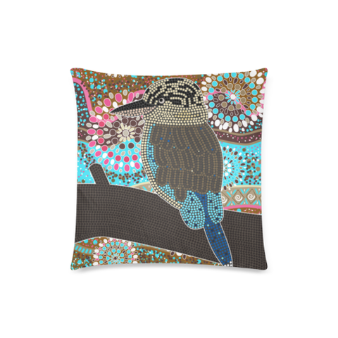Aboriginal Kookaburra Pillow Covers Nn6 | 1sttheworld.com