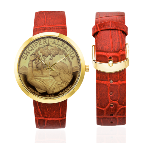 Albania watch - Albania luxury watch (100 Lekë Peasant Girl) NN6