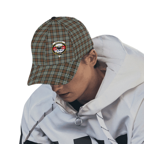 MacLeod of Harris Weathered Clan Badge Tartan Dad Cap - BN04