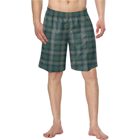 Image of Kennedy Modern Tartan Swim Trunk | 1sttheworld.com