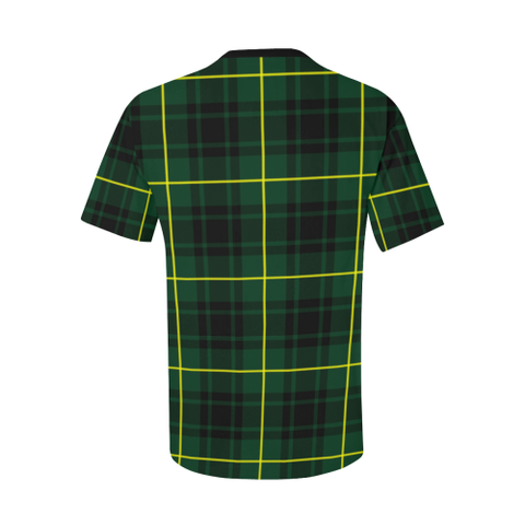 Image of MacArthur Tartan T-Shirt | Scottish Pocket Tees | Men & Women Clothing