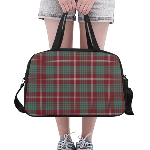 Image of Crawford Modern Tartan Fitness Bag | Sport Bags | Scotland Bag