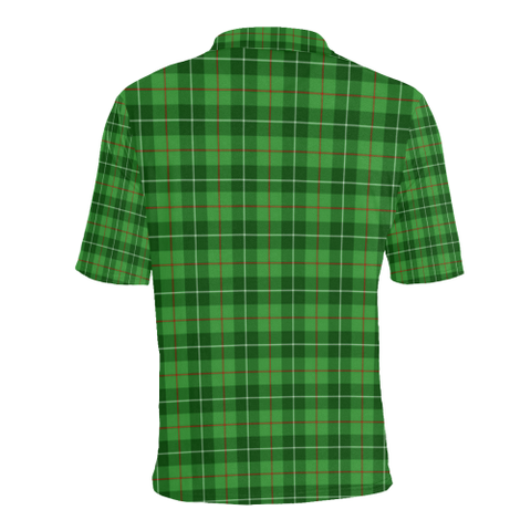 Image of Galloway District Tartan Clan Badge Polo Shirt HJ4