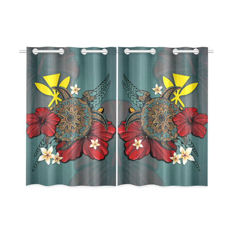 Image of Hawaii kanaka maoli Home Set - Window Curtain | Special Custom Design