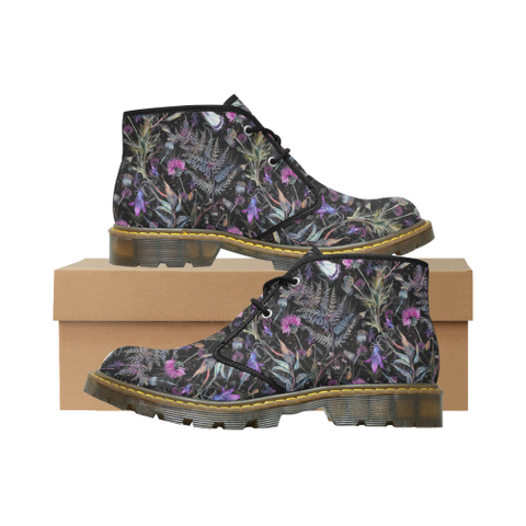 Image of Scotland Nubuck Chukka Boot - Thistle 02 A2