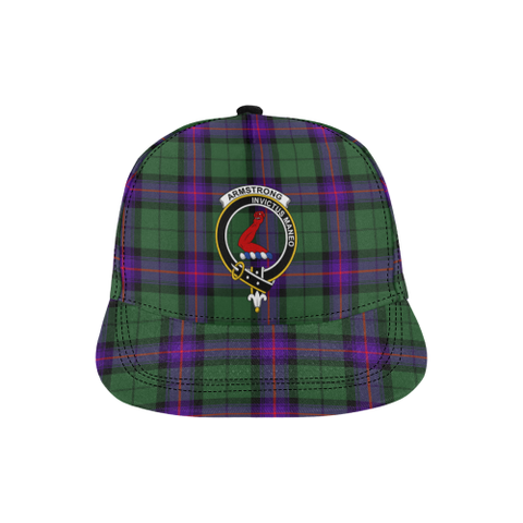 Armstrong Modern Tartan Hat - All Over Print Snapback Hat TH8