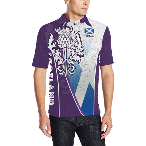 Scotland Polo Thistle Mix Flag Th5