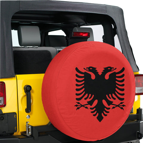 Image of Albania Spare Tire Cover A27