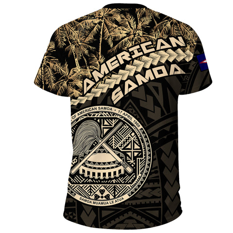 American Samoa T-Shirt Golden Coconut A02