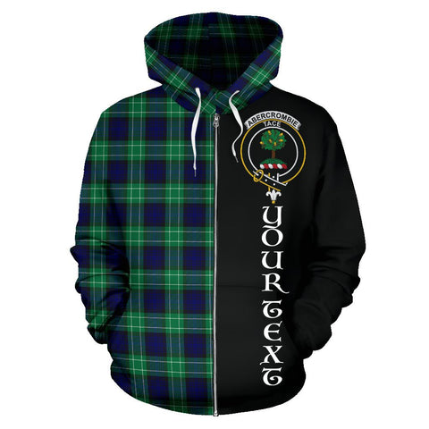 (Custom your text) Abercrombie Tartan Hoodie Half Of Me | 1sttheworld.com