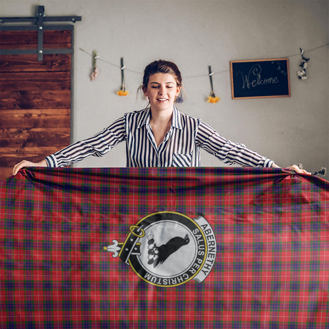 Abernethy Crest Tartan Tablecloth | Home Decor