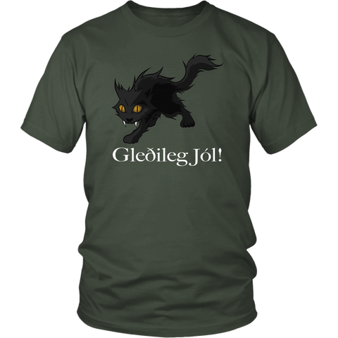 ICELAND YULE CAT T-SHIRT A0