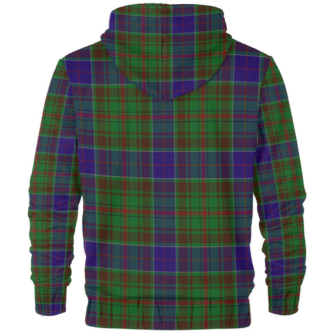 Adam Clan Tartan Zip Hoodie | Men & Women | Clothing