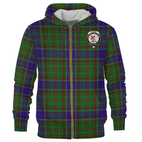 Image of Adam Clan Tartan Zip Hoodie | Men & Women | Clothing