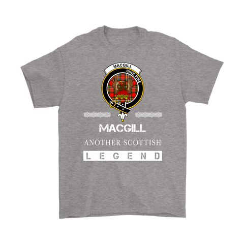 MacGill (Makgill) Scottish Legend T-shirt And Hoodie A9