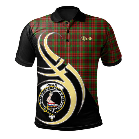 Ainslie Clan Believe In Me Polo Shirt