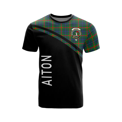 Image of Aiton Tartan All Over T-Shirts - Curve Style