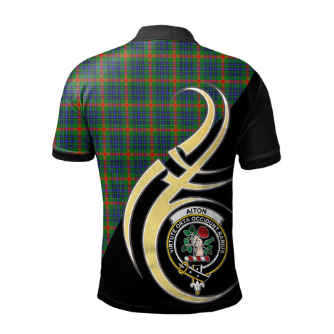 Aiton Clan Believe In Me Polo Shirt