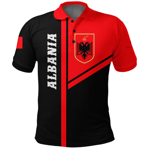 Image of Albania Polo Streetwear Style