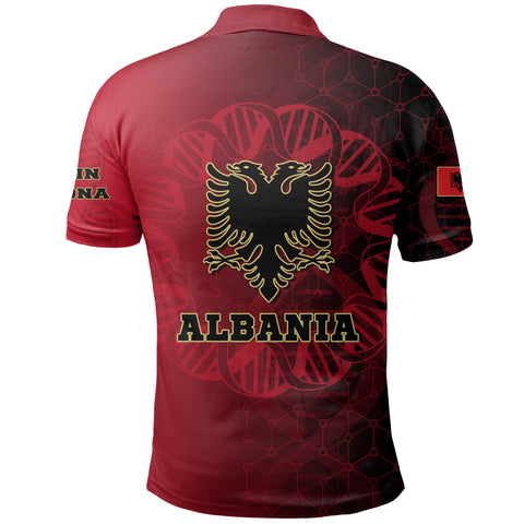 Albania Is In My DNA Polo Shirt K5
