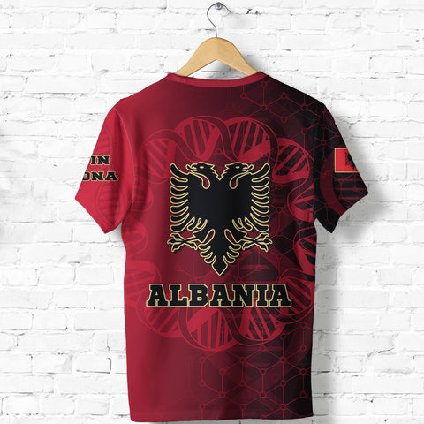 Albania Is In My DNA T shirt K5