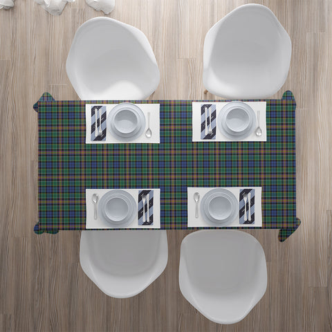 Allison Tartan Tablecloth |Home Decor